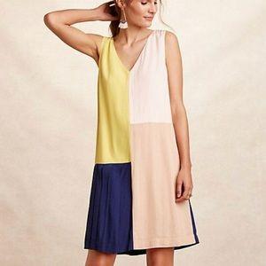 NWOT HD in Paris colorblock dress